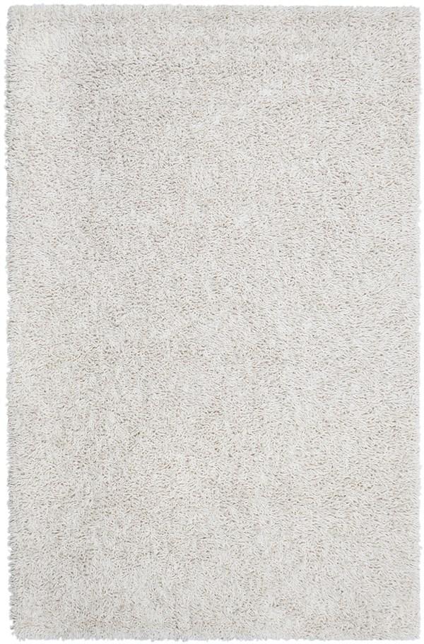 Ivory (AMB-0651) Shag Area Rug