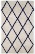 Product Image of Shag Ivory, Navy Blue (AMB0658) Area Rug