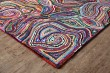 Product Image of Red, Pink, Blue, Green (AMB-1013) Contemporary / Modern Area Rug