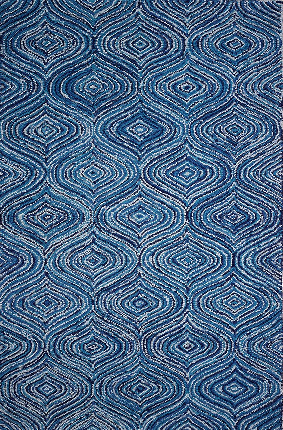 Blue (AMB-1007) Moroccan Area Rug