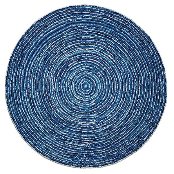 Blue (AMB-1011) Contemporary / Modern Area Rug