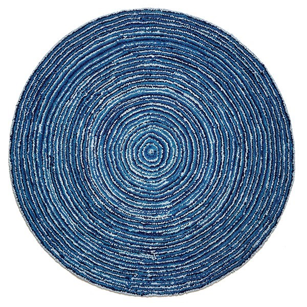 Blue (AMB-1011) Contemporary / Modern Area Rug