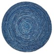 Product Image of Contemporary / Modern Blue (AMB-1011) Area Rug