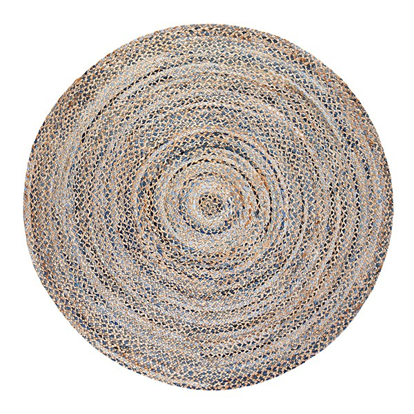 Blue, Tan (AMB-0350) Transitional Area Rug