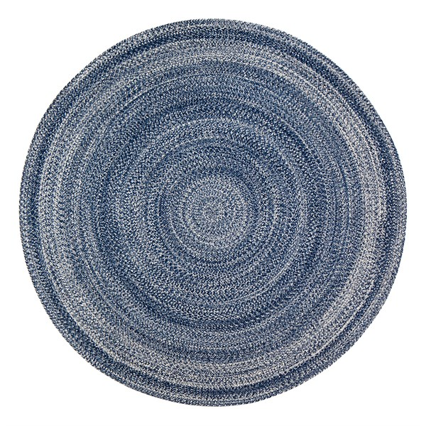Blue Country Area Rug