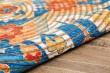 Product Image of Blue, Orange Bohemian Area Rug
