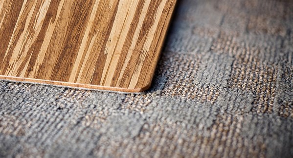 Brown Natural Fiber Area Rug
