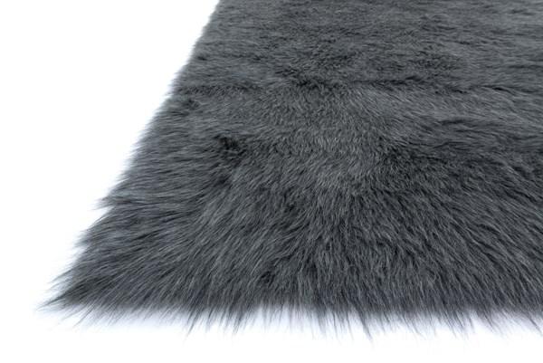 Graphite Solid Area Rug