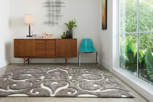 Smoke Transitional Area Rug