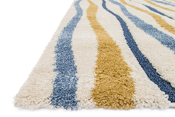 Ivory, Gold Transitional Area Rug