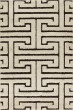 Product Image of Transitional Ivory, Dark Brown Area Rug