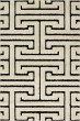 Product Image of Transitional White, Black Area Rug