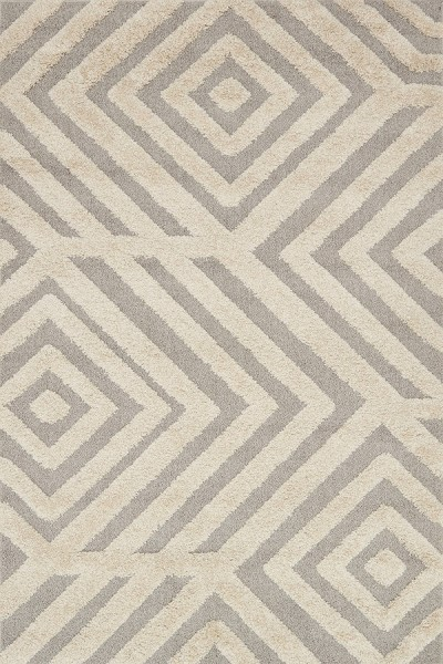 Sand, Grey Contemporary / Modern Area Rug