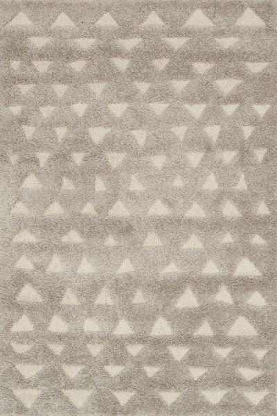 Grey, Sand Shag Area Rug
