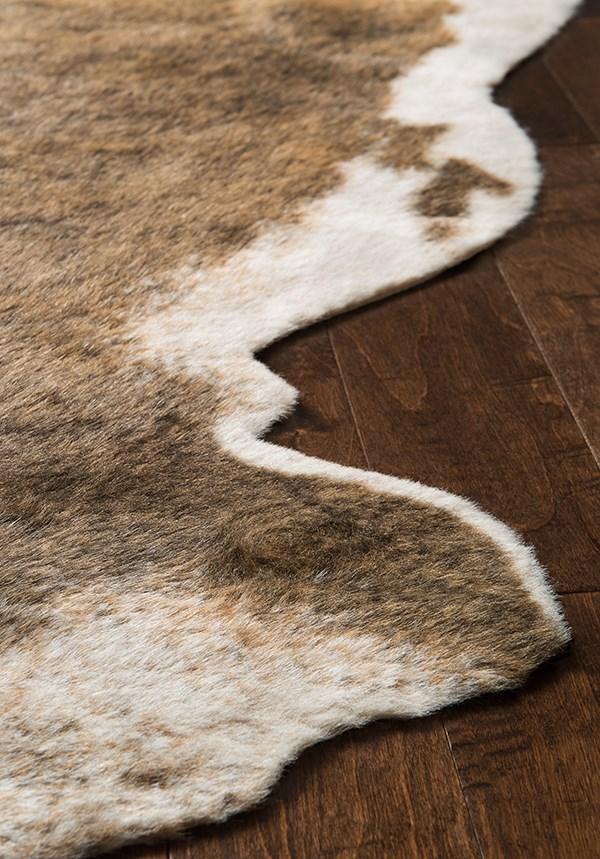 Camel, Beige Southwestern / Lodge Area Rug