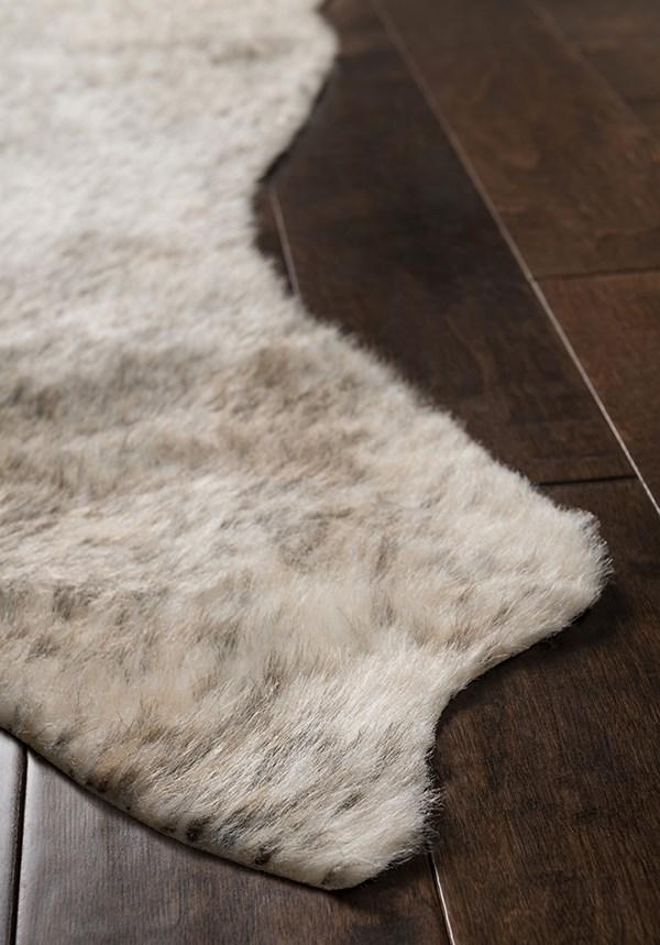 Grey, Ivory Southwestern / Lodge Area Rug