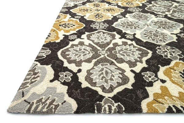 Charcoal, Gray Moroccan Area Rug