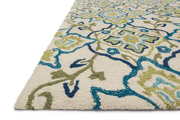 Ivory, Ocean Transitional Area Rug