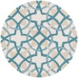 Product Image of Ivory, Teal Moroccan Area Rug