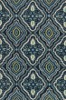 Product Image of Navy, Aqua Transitional Area Rug