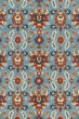 Product Image of Transitional Light Blue, Spice Area Rug