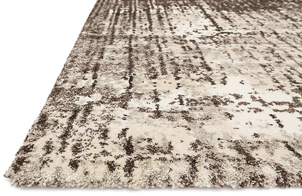 Ivory, Brown Vintage / Overdyed Area Rug