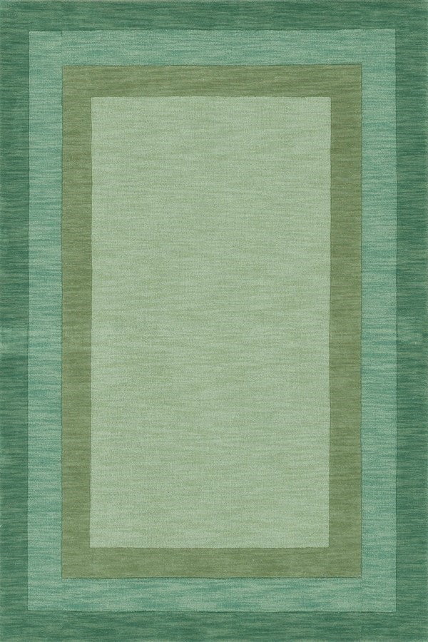 Fern Bordered Area Rug