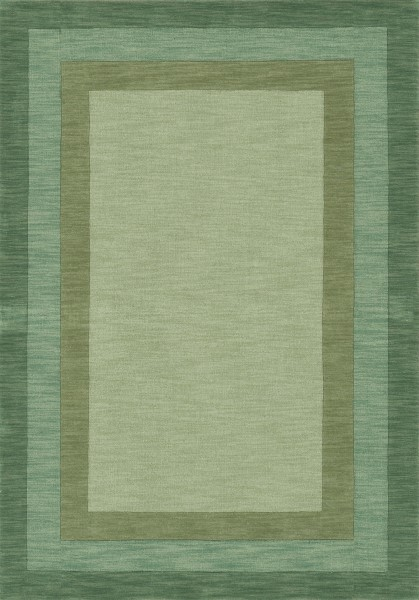 Fern Bordered Area Rug
