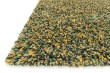 Product Image of Teal, Gold Shag Area Rug