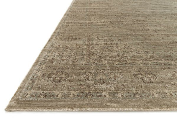 Taupe Transitional Area Rug