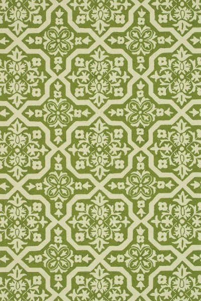 Peridot, Ivory Contemporary / Modern Area Rug
