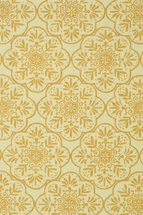 Ivory, Buttercup Moroccan Area Rug