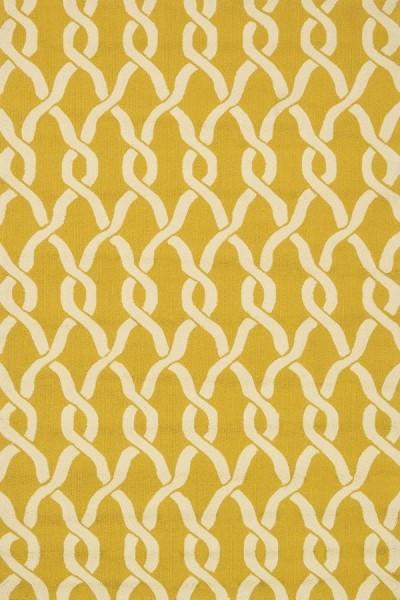 Goldenrod, Ivory Transitional Area Rug