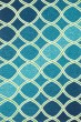 Product Image of Contemporary / Modern Blue, Green Area Rug