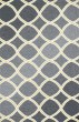 Product Image of Contemporary / Modern Charcoal, Lime Area Rug