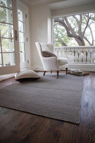 Charcoal (HH-02) Contemporary / Modern Area Rug