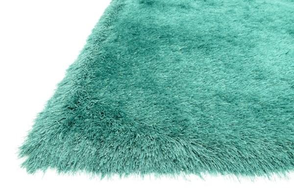 Emerald Shag Area Rug