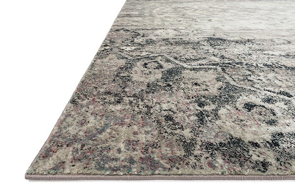 Ink, Ivory Vintage / Overdyed Area Rug