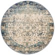 Product Image of Blue, Ivory Vintage / Overdyed Area Rug