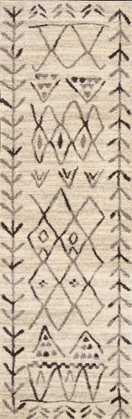 Heather Grey, Black Southwestern / Lodge Area Rug