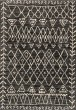 Product Image of Southwestern / Lodge Black, Ivory Area Rug