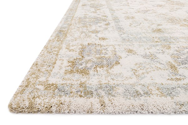 Ivory, Tan Vintage / Overdyed Area Rug