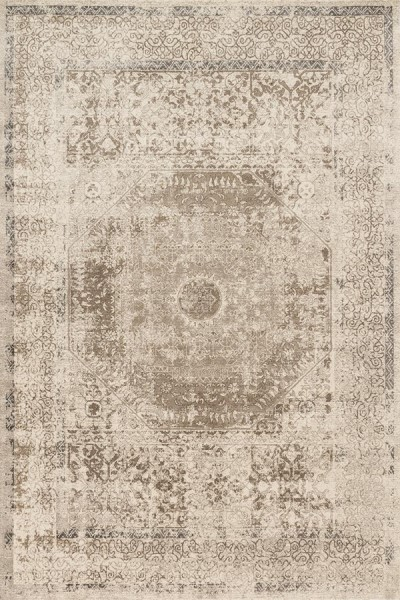 Taupe, Sand Vintage / Overdyed Area Rug