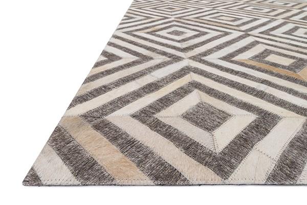 Taupe, Sand Animals / Animal Skins Area Rug