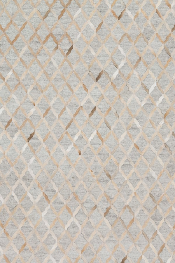 Grey, Sand Animals / Animal Skins Area Rug