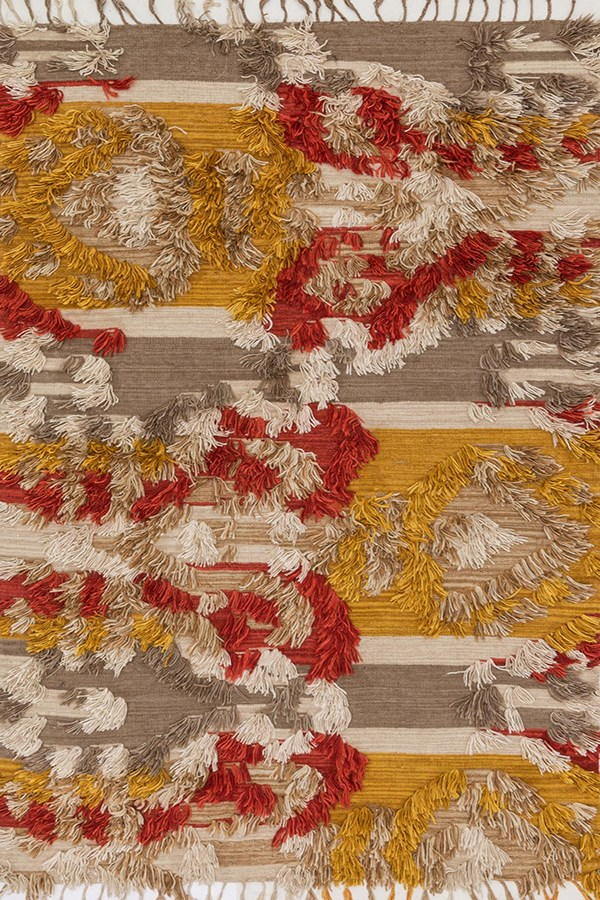 Camel, Sunset Southwestern / Lodge Area Rug