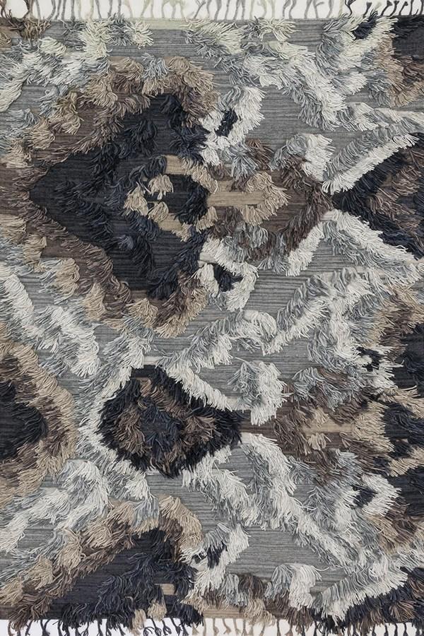 Granite, Ivory Southwestern / Lodge Area Rug