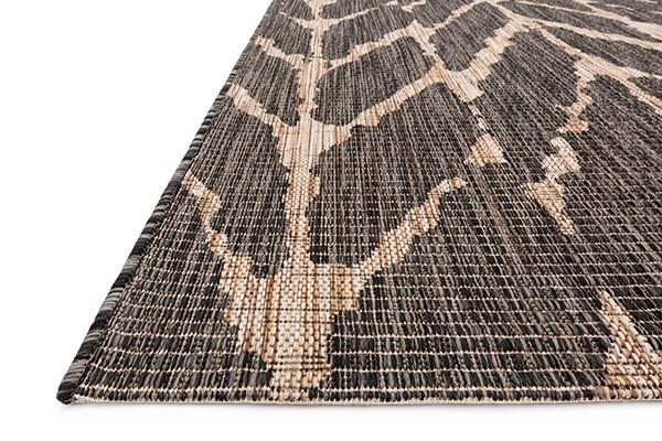 Charcoal, Mocha Chevron Area Rug