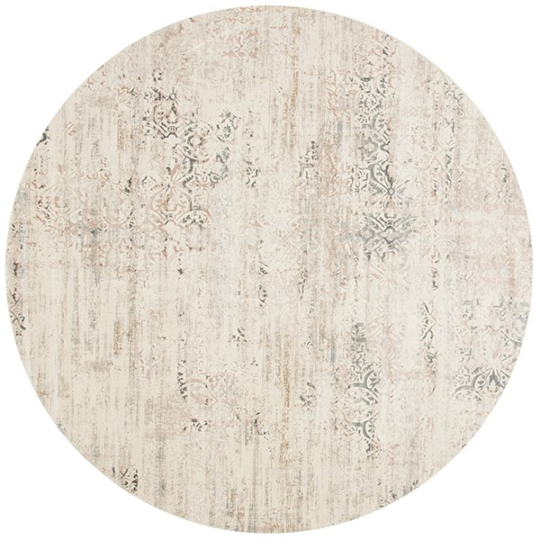 Ivory, Stone Vintage / Overdyed Area Rug