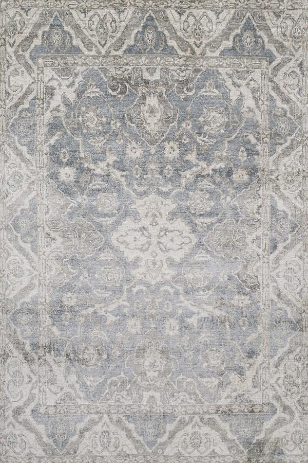 Slate Traditional / Oriental Area Rug